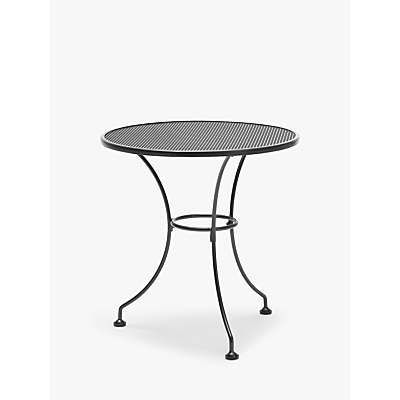 John Lewis & Partners Henley by KETTLER 2-Seater Garden Bistro Table, Grey