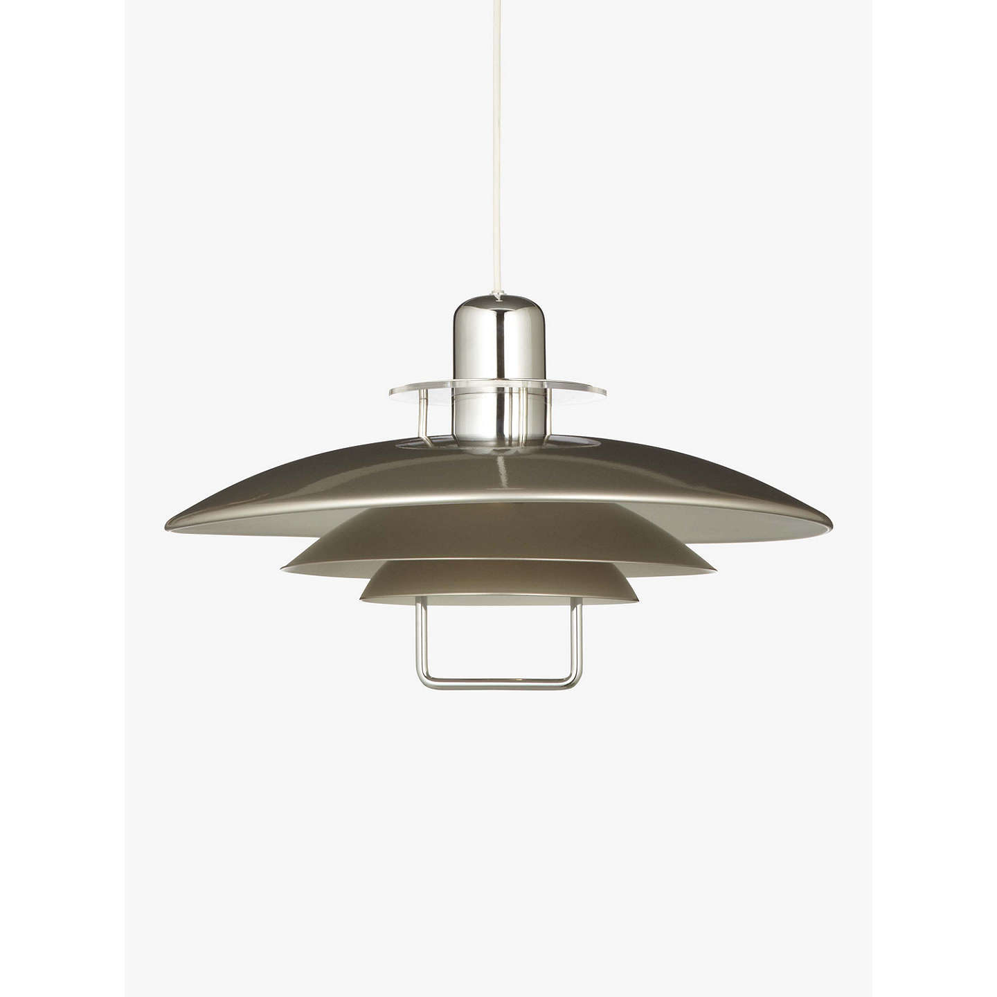 Belid Felix Rise And Fall Ceiling Light Satin Nickel At