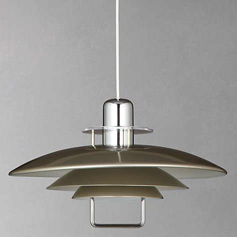 Buy Belid Felix Rise and Fall Ceiling Light, Satin Nickel Online at johnlewis.com