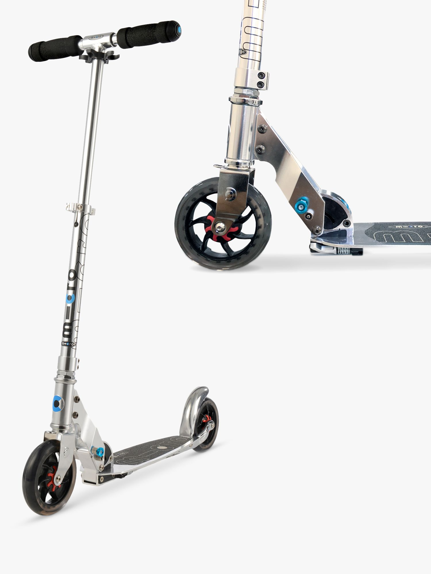 Micro Micro Speed Scooter, Adult, Grey