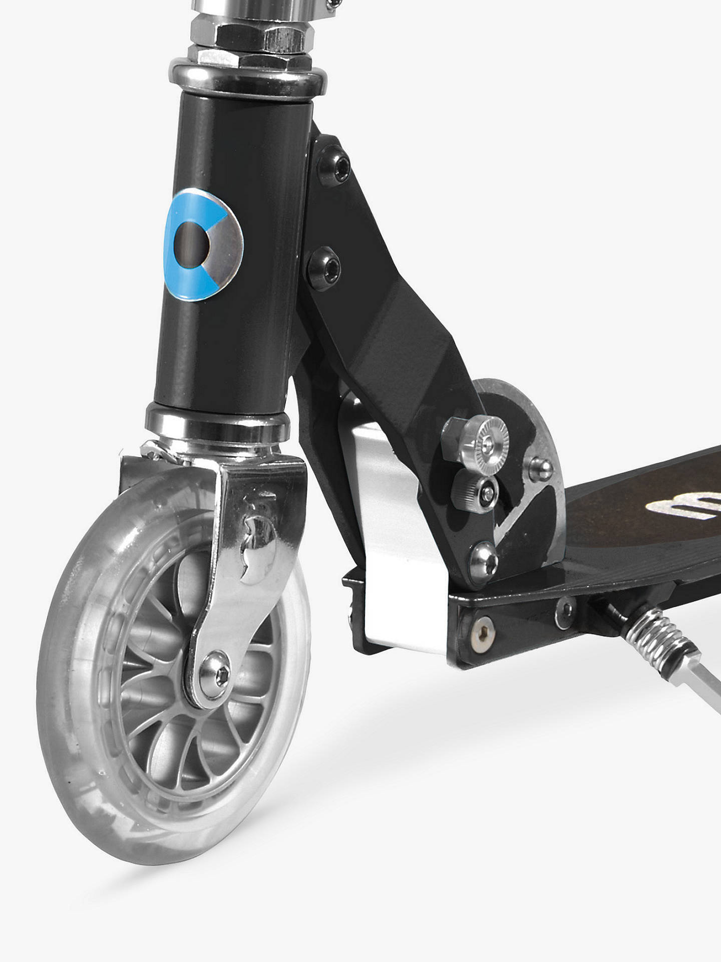 BuyMicro Sprite Scooter, 5-12 years, Black Online at johnlewis.com
