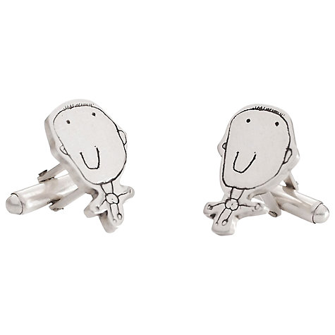 Buy FingerPrint Jewellery Little Picasso Cufflinks Online at johnlewis.com