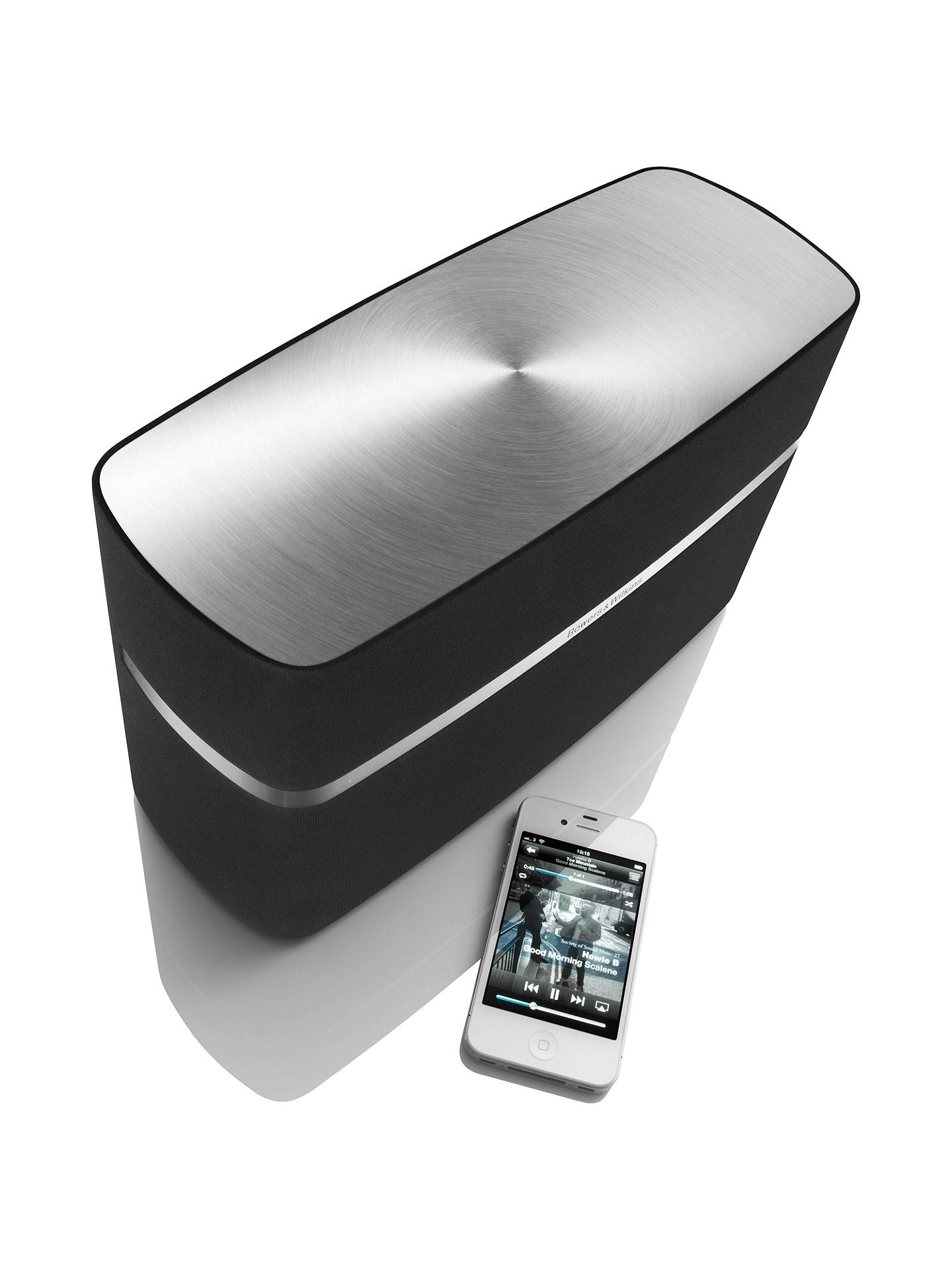 Bowers Wilkins A5 Speaker With Apple Airplay Black At