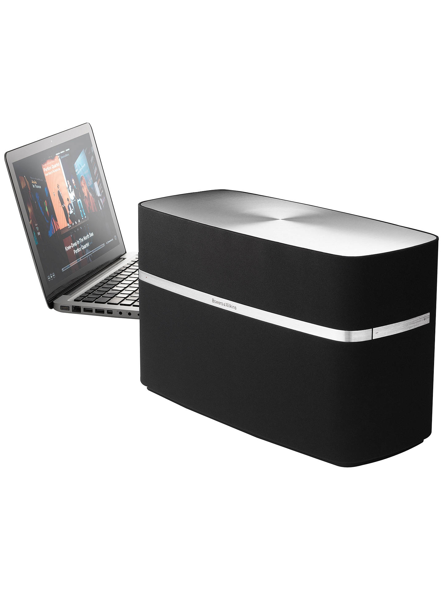 bowers wilkins  speaker  apple airplay black