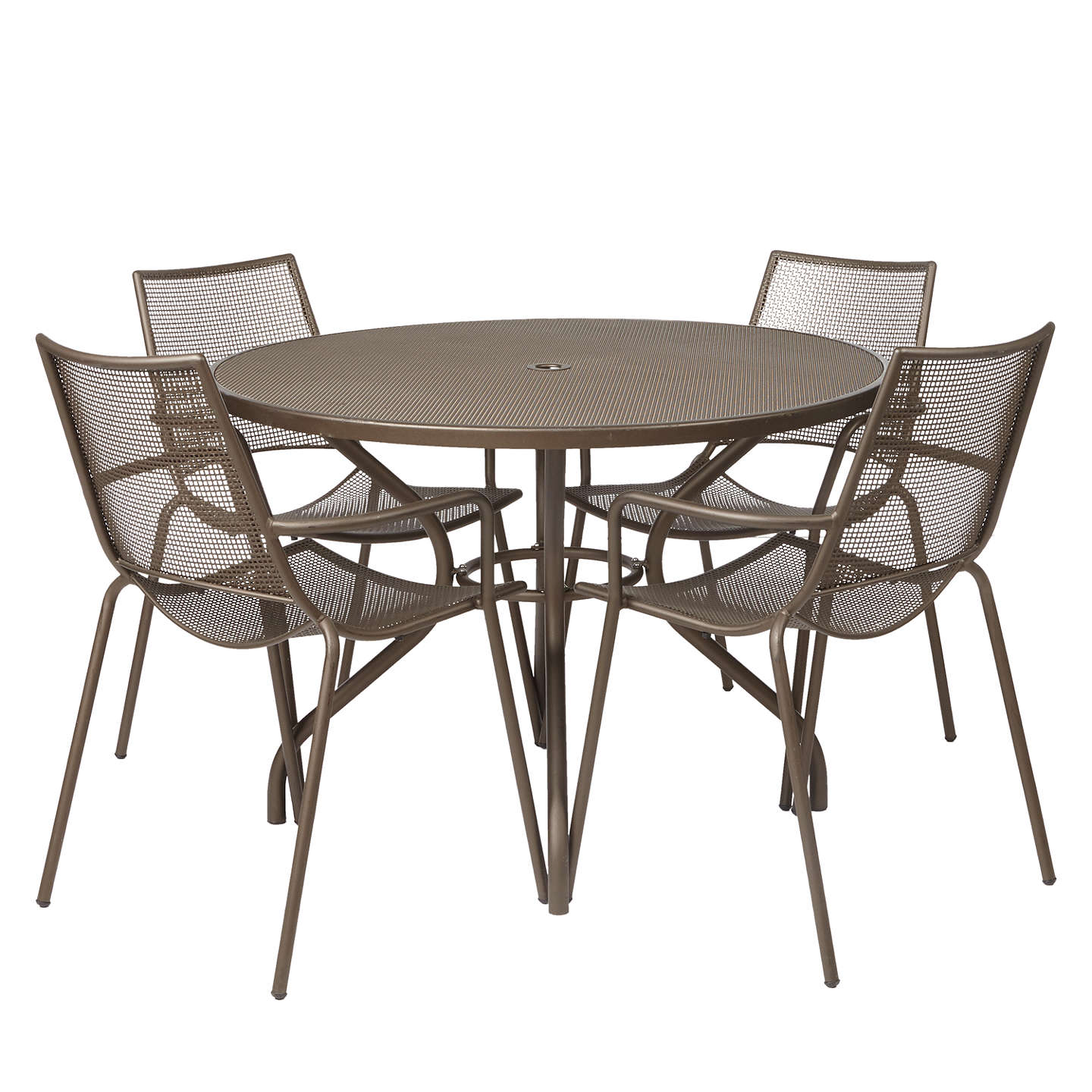 John Lewis Ala Mesh 4 Seater Garden Dining Table And