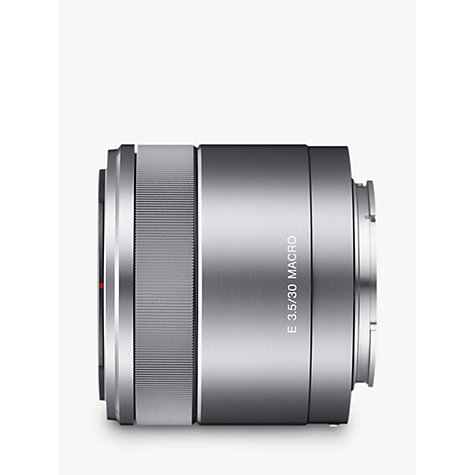 Buy Sony SEL30M35 30mm f/3.5 Macro Lens Online at johnlewis.com