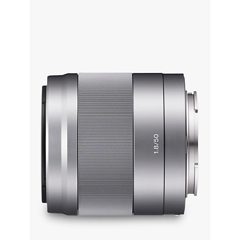 Buy Sony SEL50F18 E 50mm f/1.8 OIS Standard Lens Online at johnlewis.com
