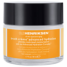 Buy OLEHENRIKSEN Truth Creme Advanced Hydration, 50ml Online at johnlewis.com