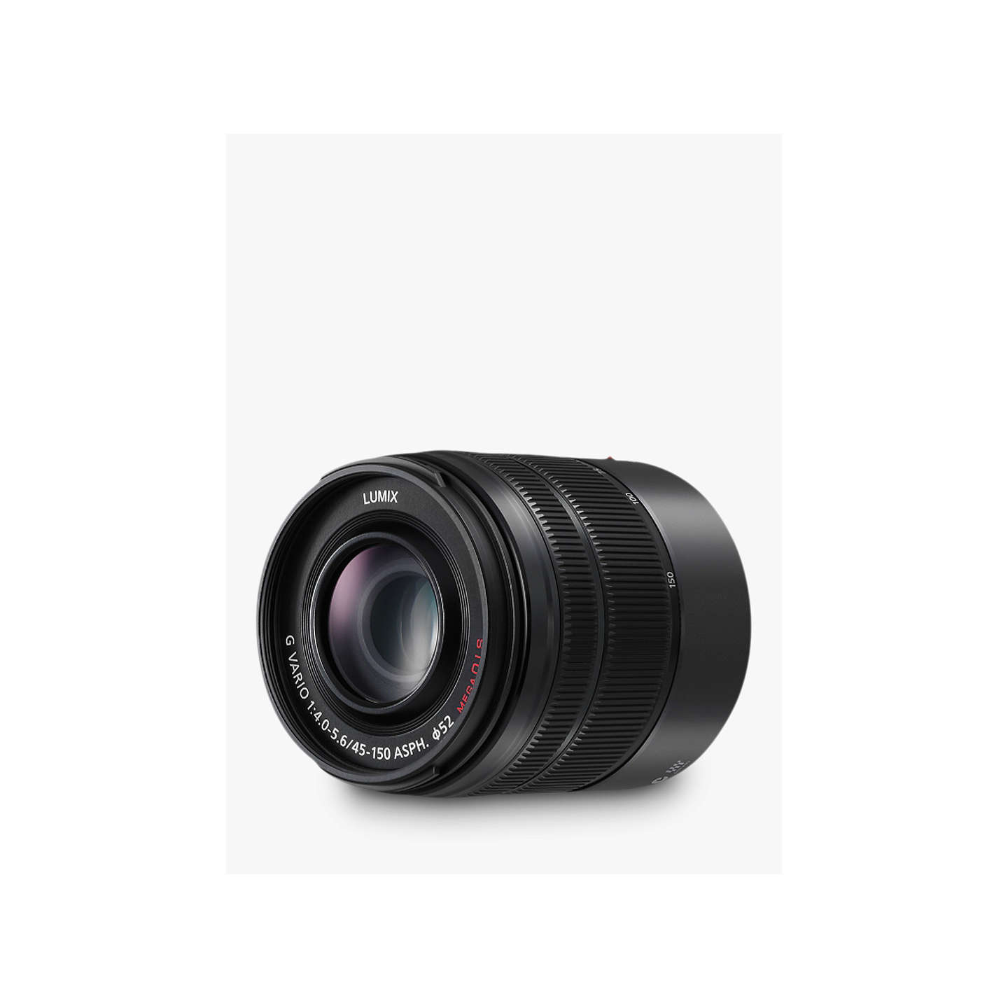 BuyPanasonic Lumix G VARIO 45-150mm f/4.0-5.6 ASPH OIS Telephoto Lens Online at johnlewis.com
