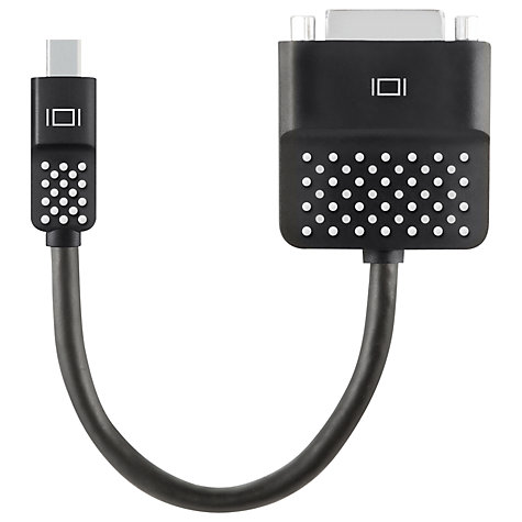 Buy Belkin Mini DisplayPort to DVI Adapter Online at johnlewis.com