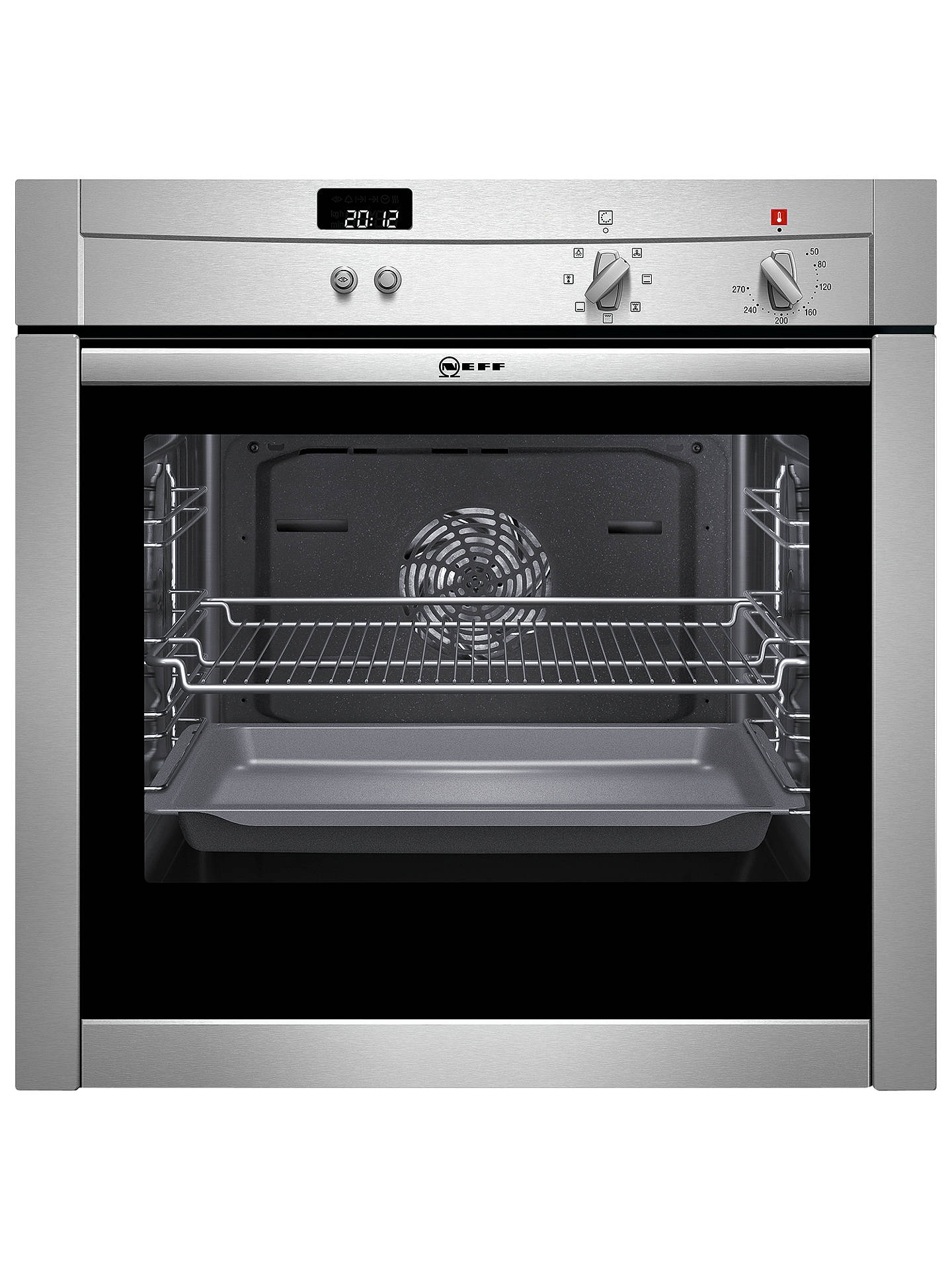Neff Wiring Instructions The Structural Diagram Hob B44m42n3gb Slide And Hide Single Electric Oven Stainless Steel Rh Johnlewis Com Wire Money Induction