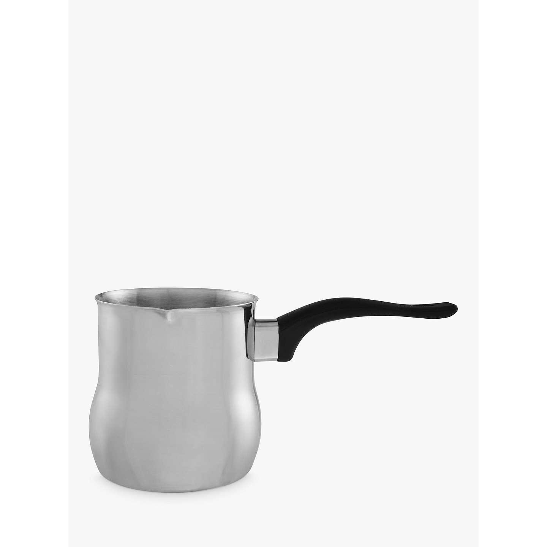 john lewis stainless steel milk frother jug at john lewis. Black Bedroom Furniture Sets. Home Design Ideas
