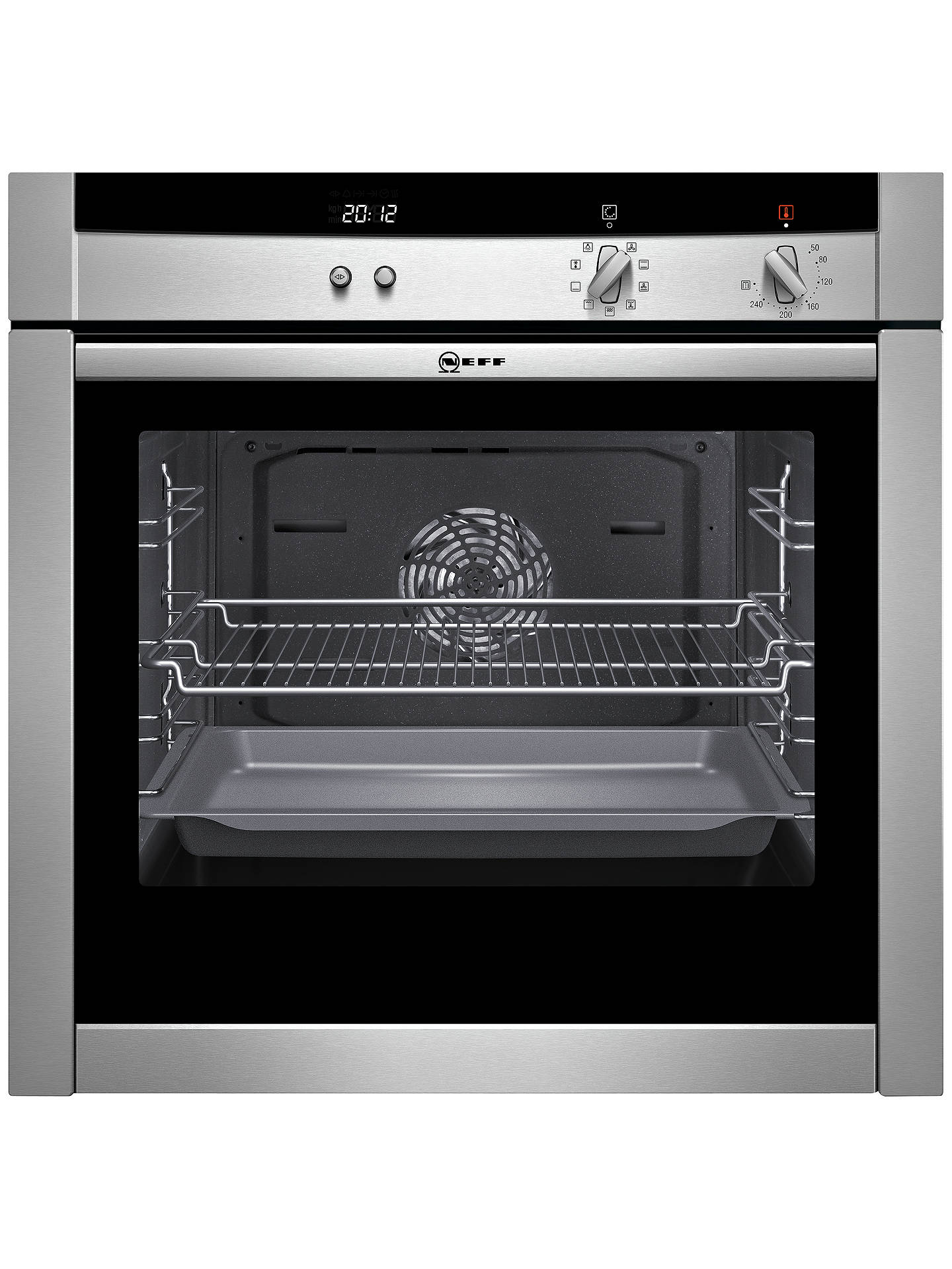 Neff B45m52n3gb Slide And Hide Single Electric Oven Stainless Steel