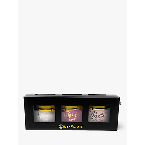 Buy Lily-Flame Pinks Candle Tin Trio Online at johnlewis.com