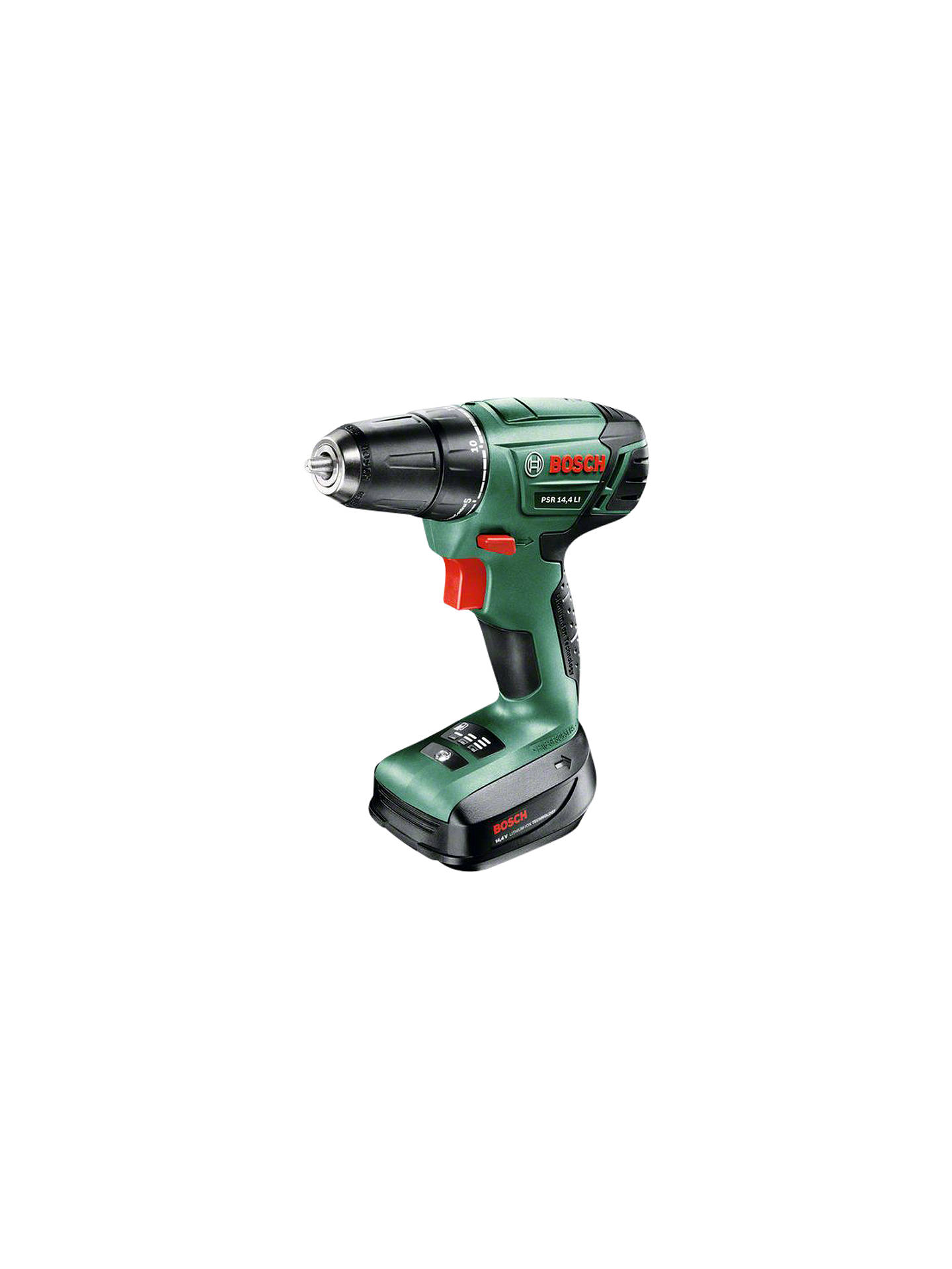 Bekend Bosch PSR 14.4 LI Cordless 14.4 Volt Drill Driver at John Lewis EP97