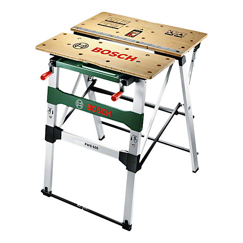 Buy Bosch PWB 600 Saw Stand & Work Bench | John Lewis
