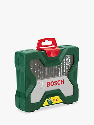 Bosch 33 Piece Drill and Screwdriver Bit Set