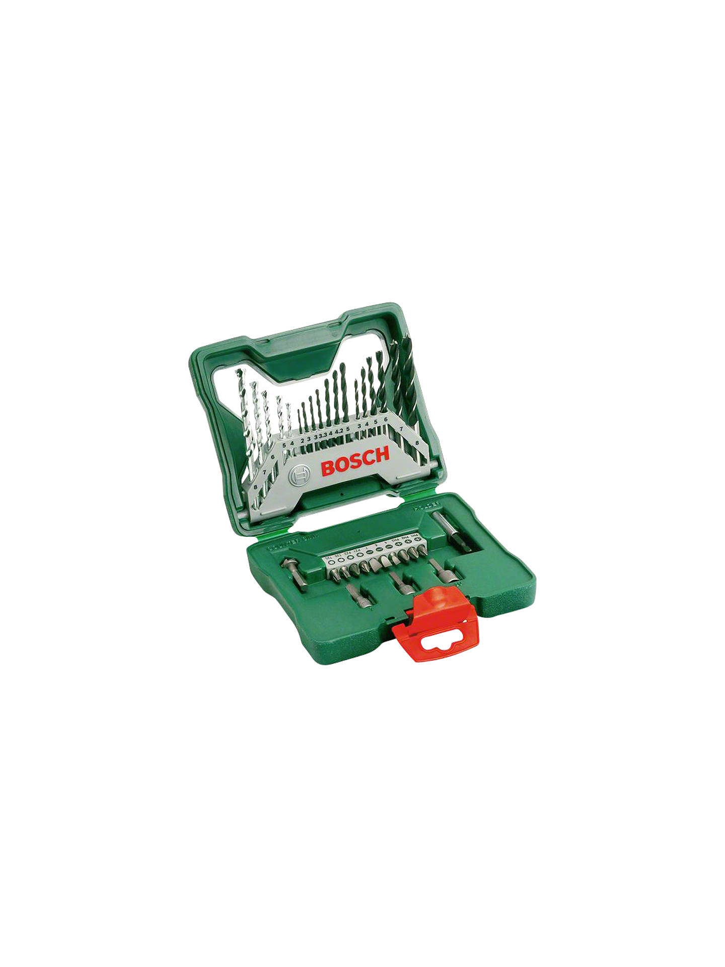 BuyBosch 33 Piece Drill and Screwdriver Bit Set Online at johnlewis.com