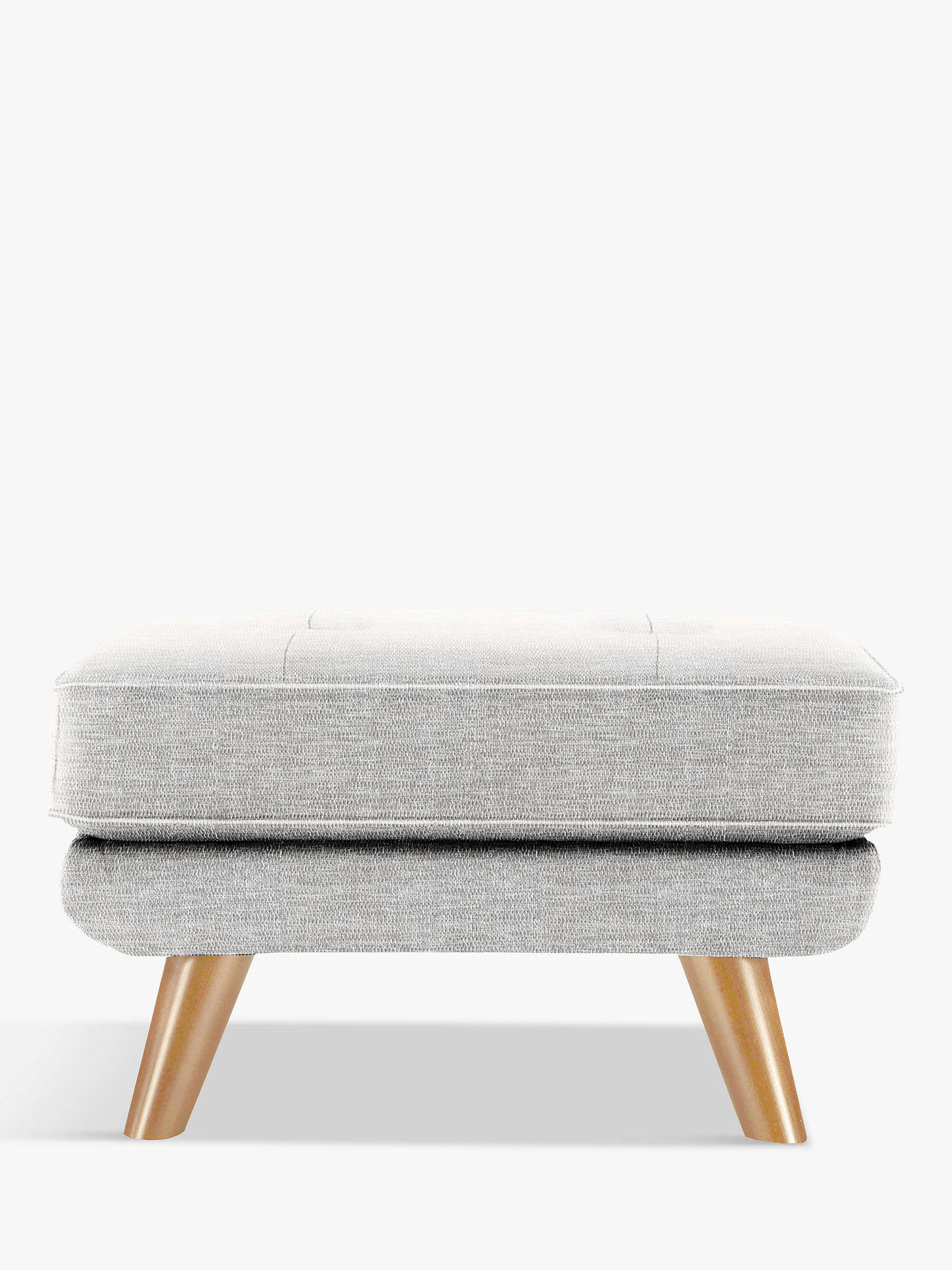 BuyG Plan Vintage The Fifty Three Footstool, Marl Grey Online at johnlewis.com