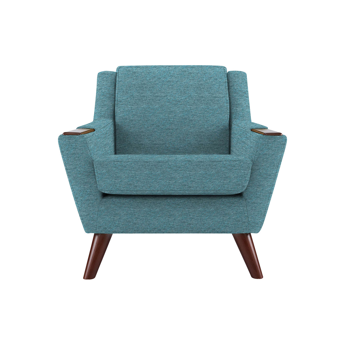 BuyG Plan Vintage The Fifty Five Armchair, Fleck Blue Online at johnlewis.com
