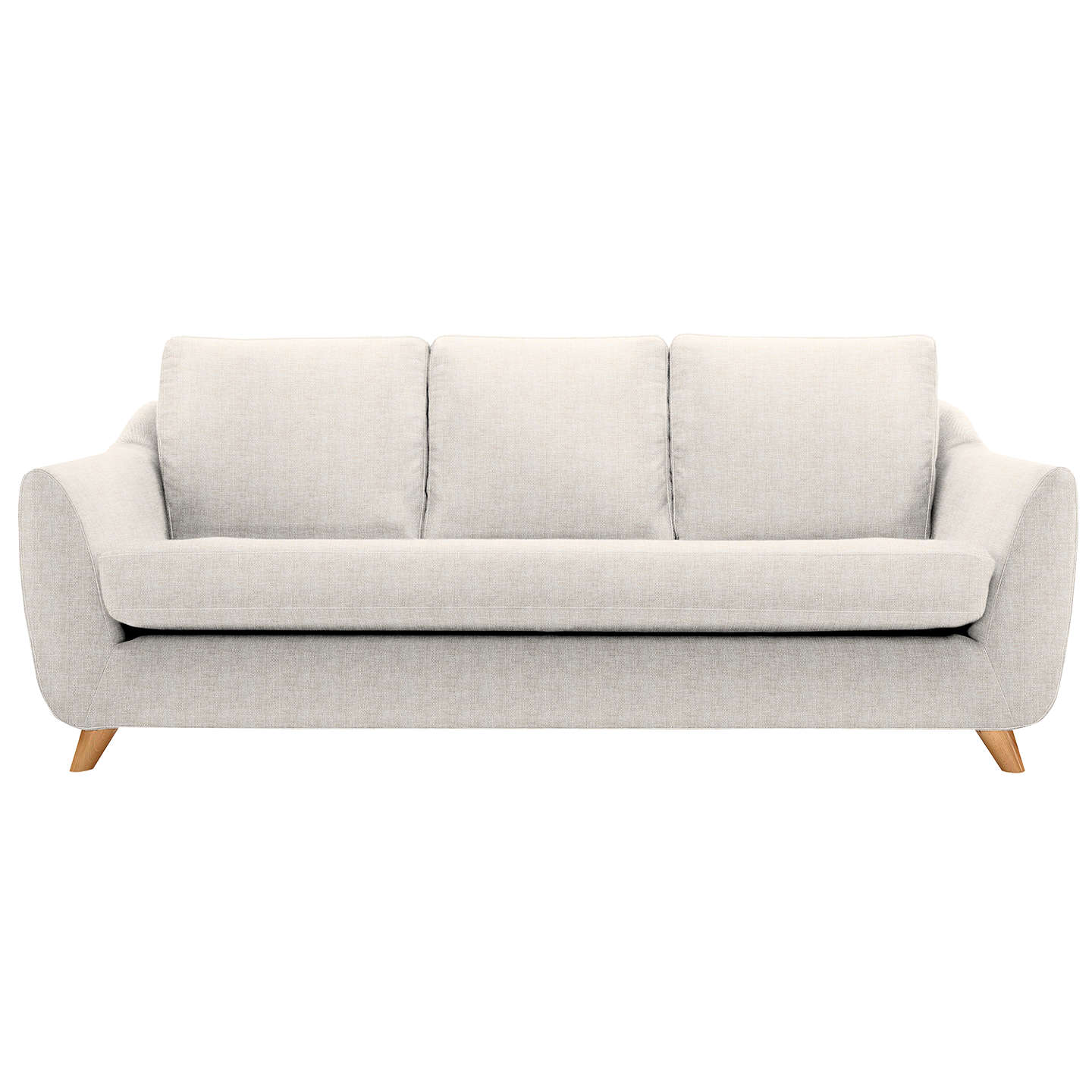 BuyG Plan Vintage The Sixty Seven Large 3 Seater Sofa, Marl Cream Online at johnlewis.com