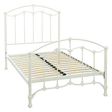 Buy John Lewis Daisy Bed Frame, Cream, Small Double Online at johnlewis.com