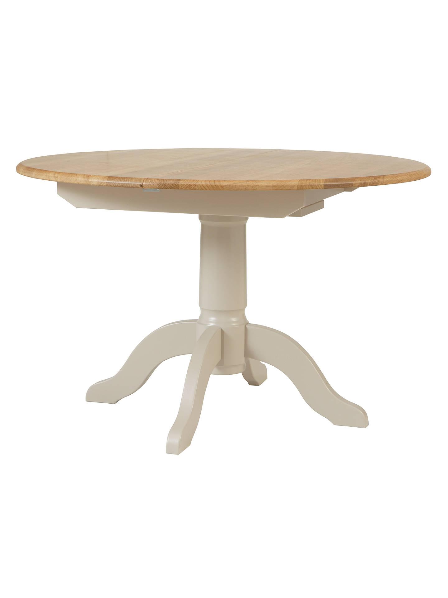 john lewis partners regent round 4 6 seater extending dining table fsc certified oak at. Black Bedroom Furniture Sets. Home Design Ideas