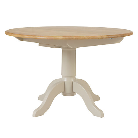 Buy John Lewis Regent Round 4-6 Seater Extending Dining Table, FSC-Certified (Oak) Online at johnlewis.com