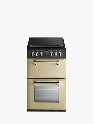 Stoves Richmond 550E Electric Mini Range Cooker, Champagne