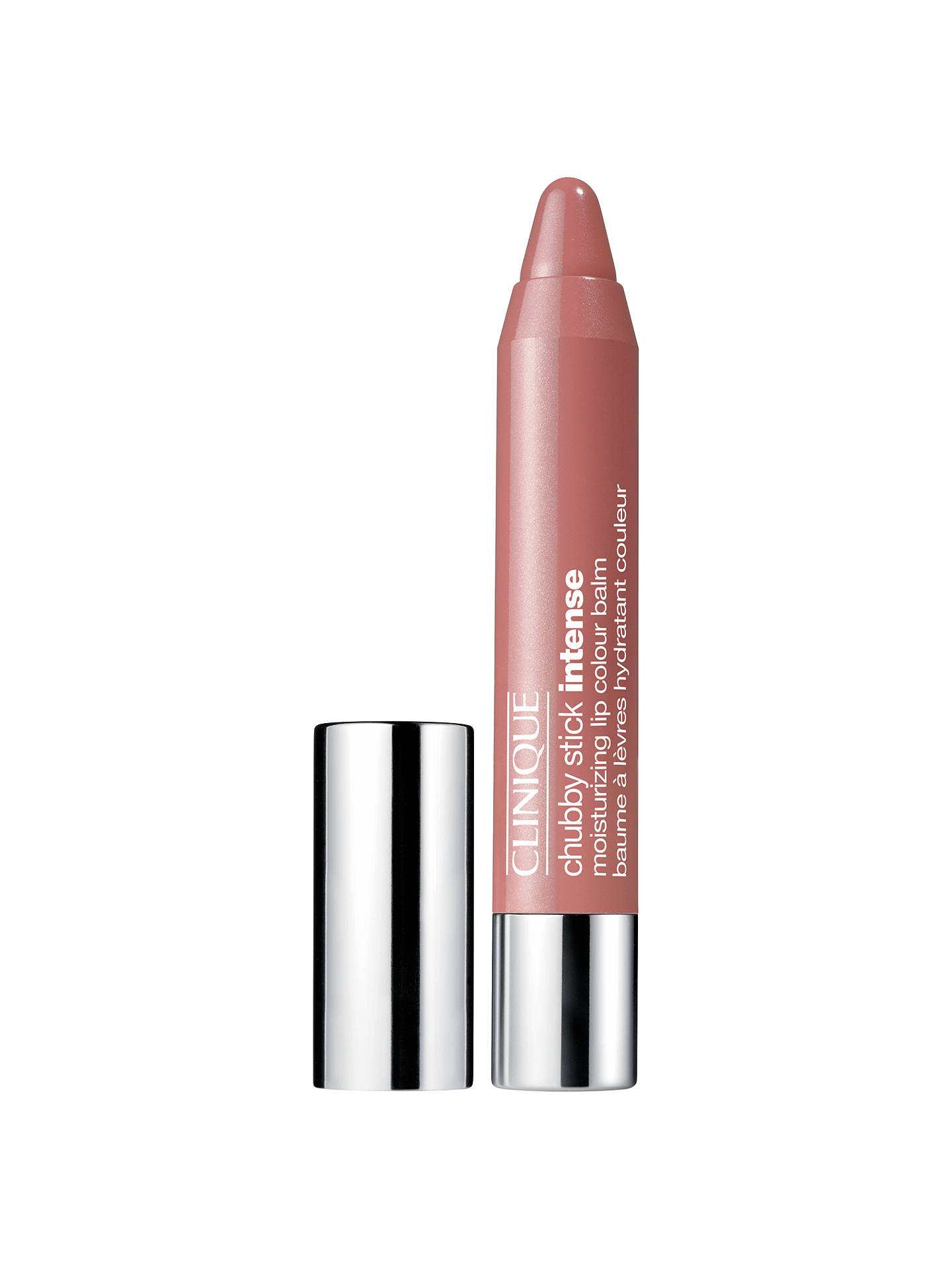BuyClinique Chubby Stick Intense Moisturising Lip Colour Balm, Curviest Caramel Online at johnlewis.com