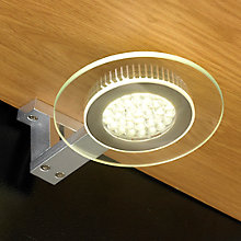 Buy John Lewis Aura LED Circular Glass Light, 2 Pack Online at johnlewis.com
