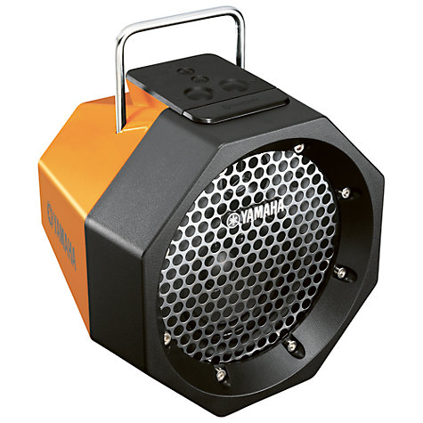 Buy Yamaha PDX-B11 Wireless Speaker, Orange Online at johnlewis.com