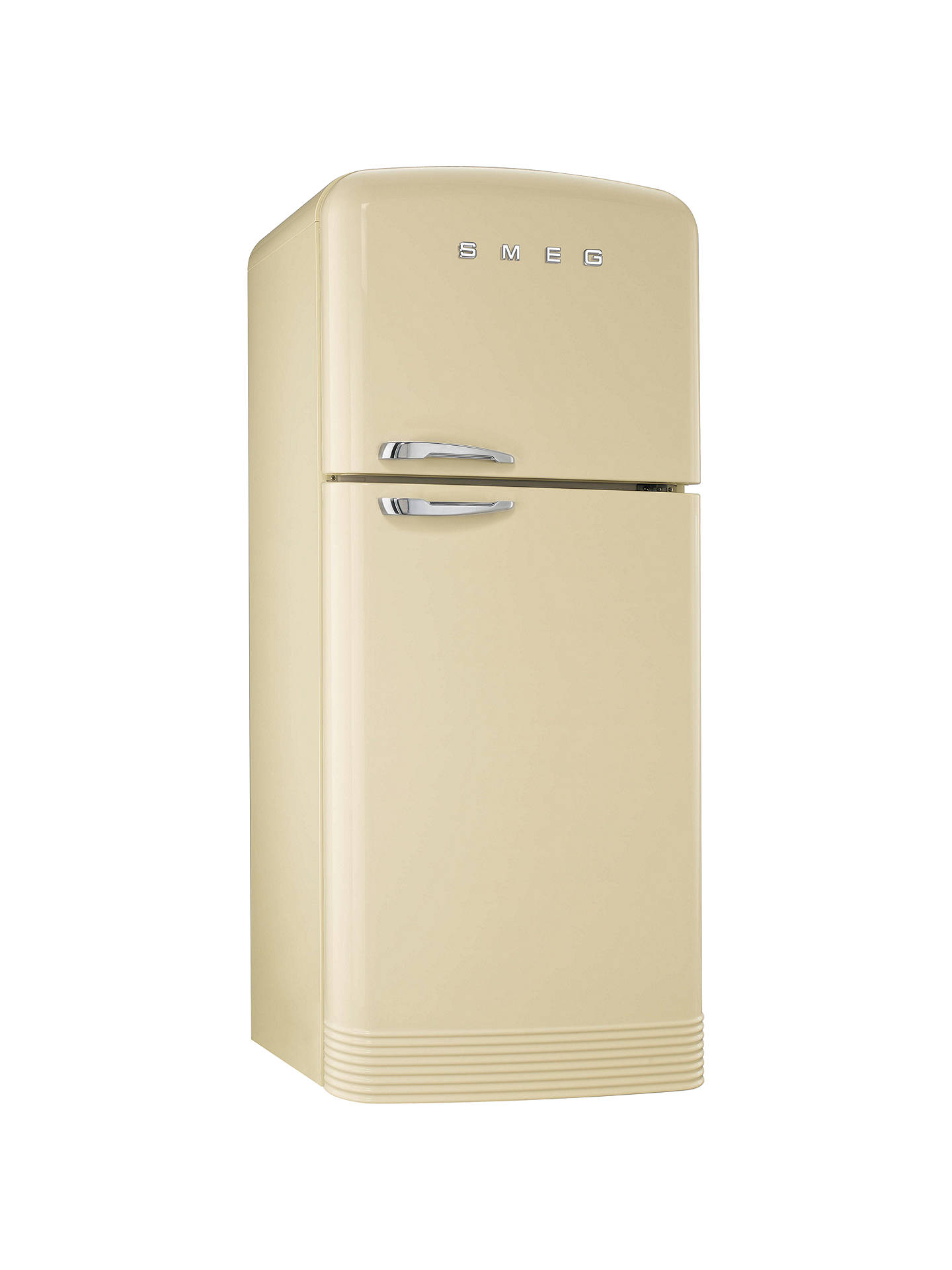 80cm Fridge Freezer >> Smeg FAB50P Fridge Freezer, A+ Energy Rating, 80cm Wide, Cream at John Lewis & Partners