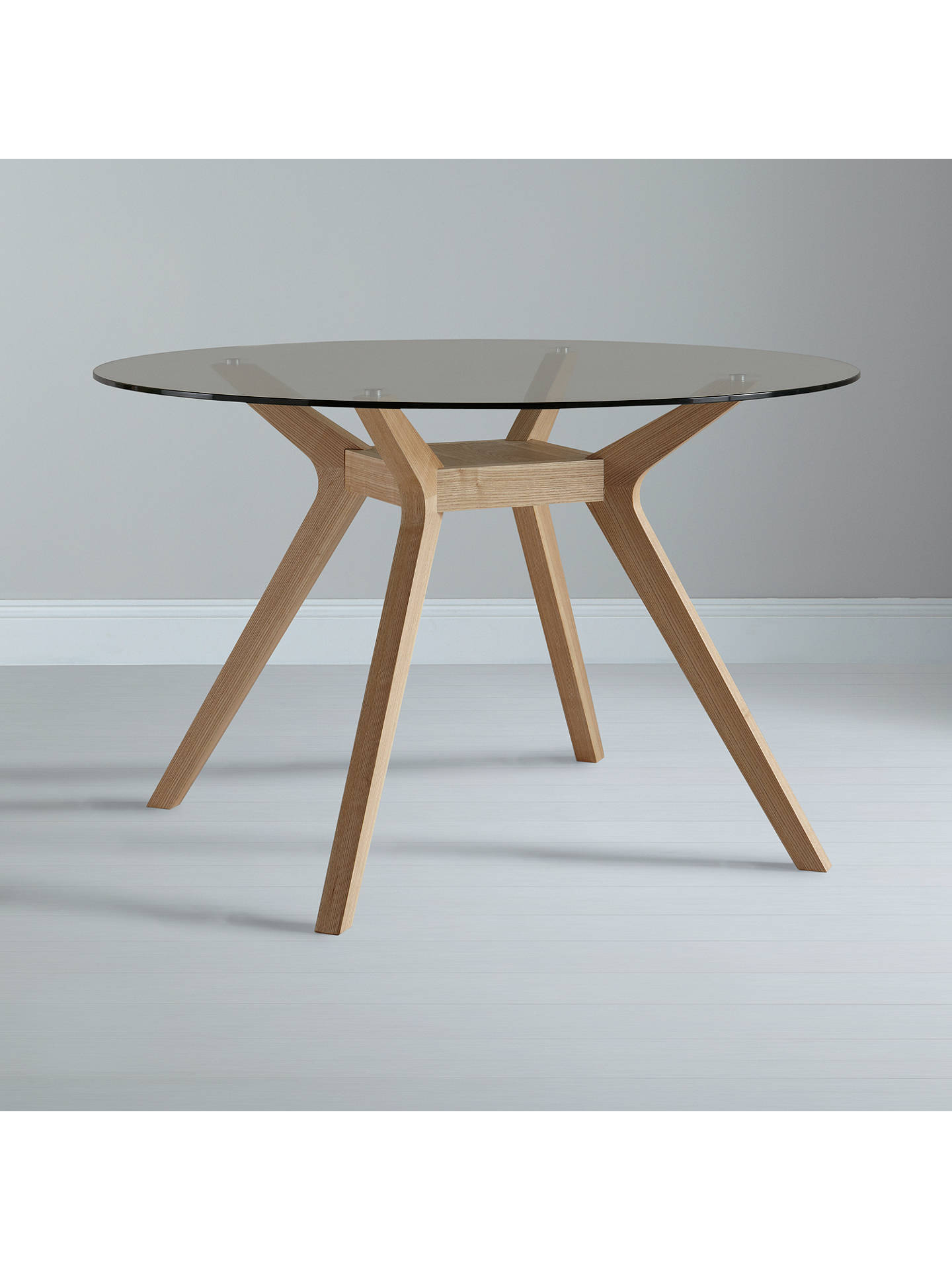 John Lewis Partners Akemi Round 4 Seater Dining Table At