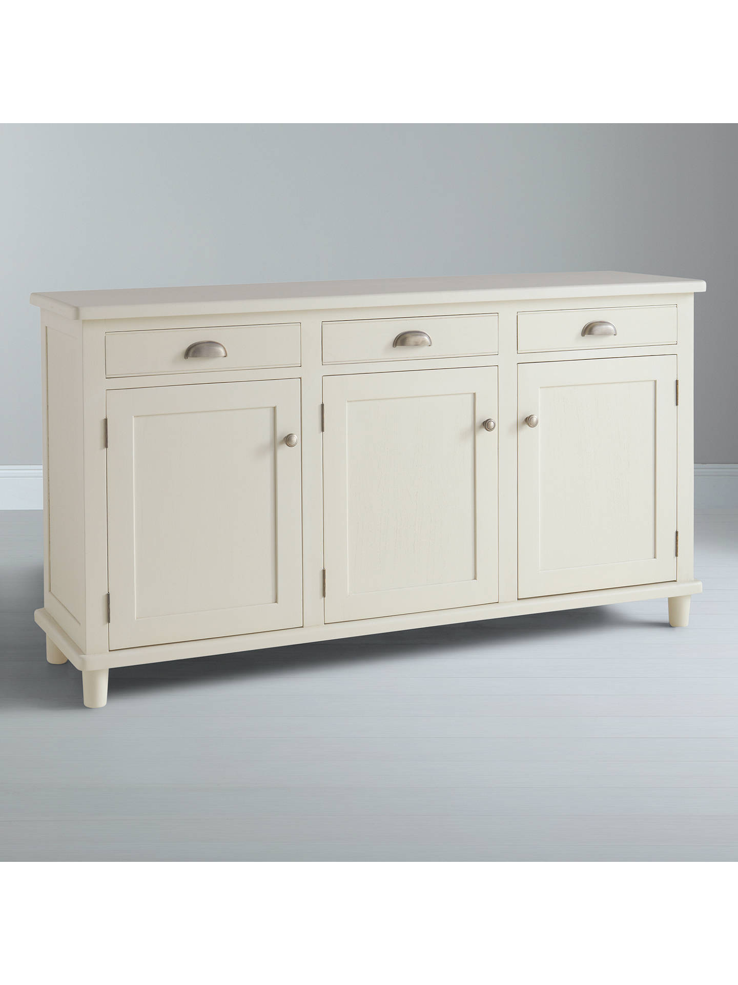 Buy John Lewis & Partners Drift 3-Door Sideboard, Cream Online at johnlewis.com