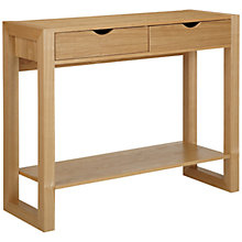 Buy John Lewis Logan Console Table with Shelf Online at johnlewis.com