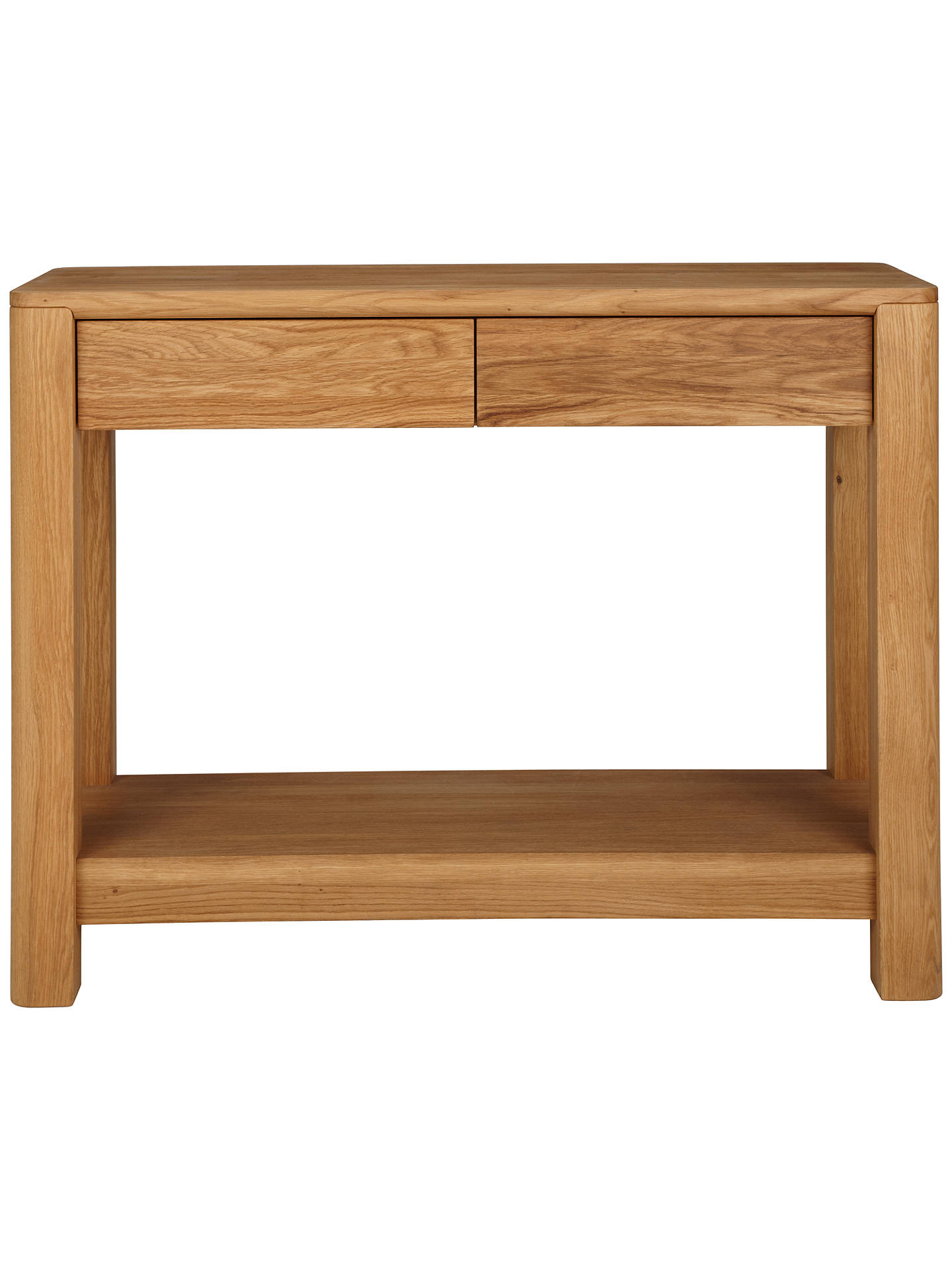 Buy John Lewis Seymour Console Table, Oak Online at johnlewis.com