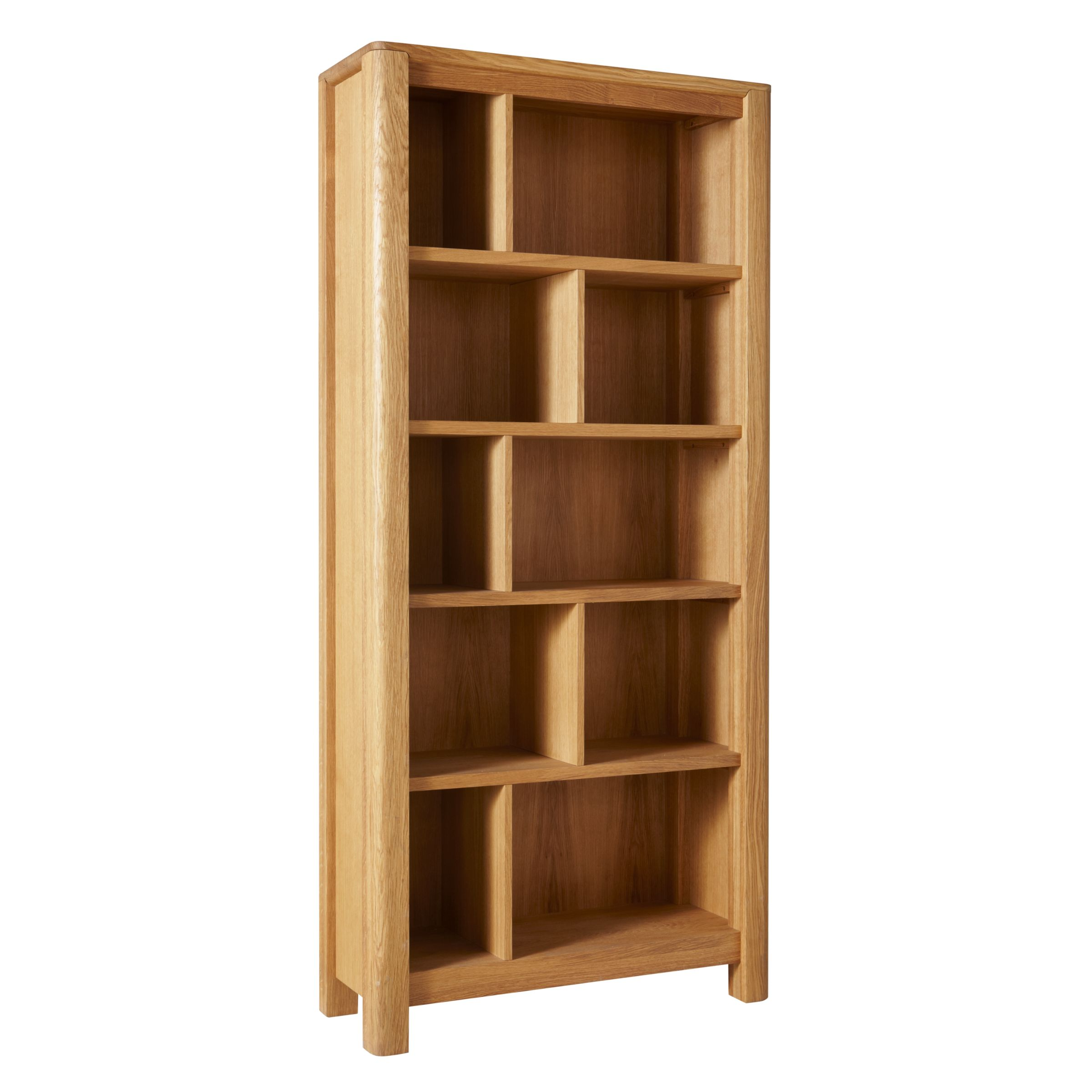 John Lewis Partners Seymour Tall Bookcase Oak