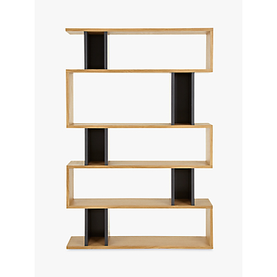 Content by Terence Conran Counterbalance Tall Shelving, Oak/Charcoal
