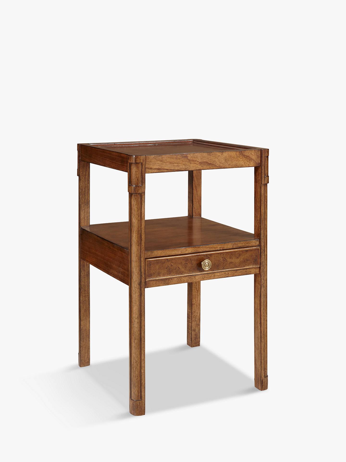 john lewis partners hemingway side table with drawer at. Black Bedroom Furniture Sets. Home Design Ideas