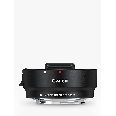 Image of Canon EF-EOS M Mount Adapter with Removable Tripod Mount