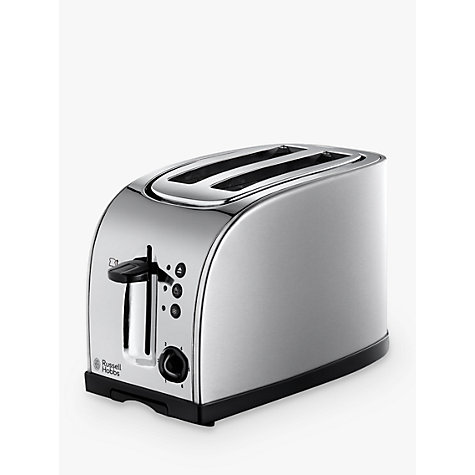 buy russell hobbs 18096 2 slice toaster silver john lewis. Black Bedroom Furniture Sets. Home Design Ideas