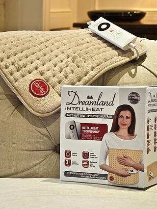 Buy Dreamland 16052 Intelliheat Multi Purpose Heat Pad Online at johnlewis.com