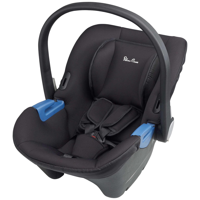 Silver Cross Simplicity Group 0+ Baby Car Seat, Black at John Lewis