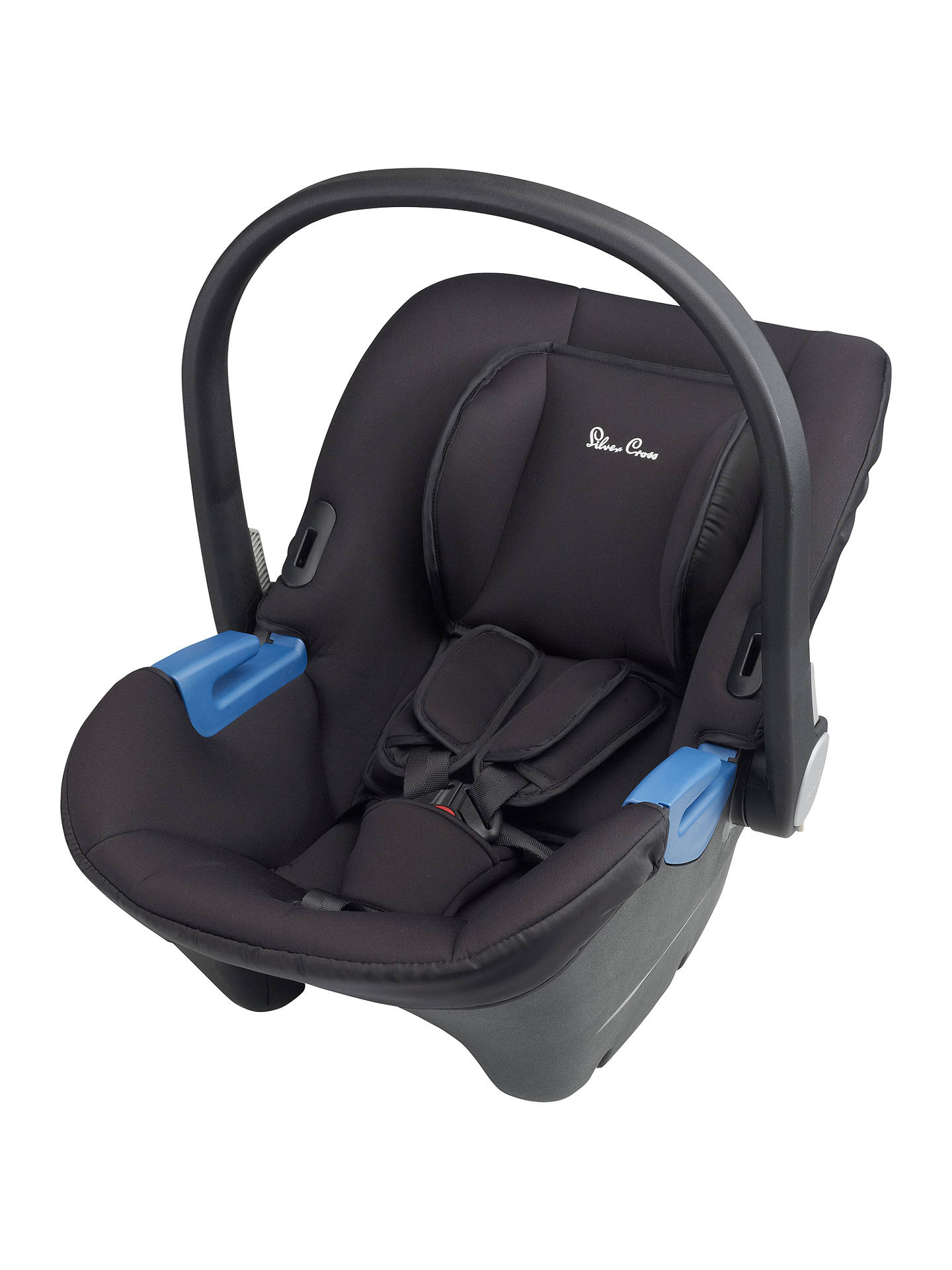 BuySilver Cross Simplicity Group 0 Baby Car Seat Black Online At Johnlewis