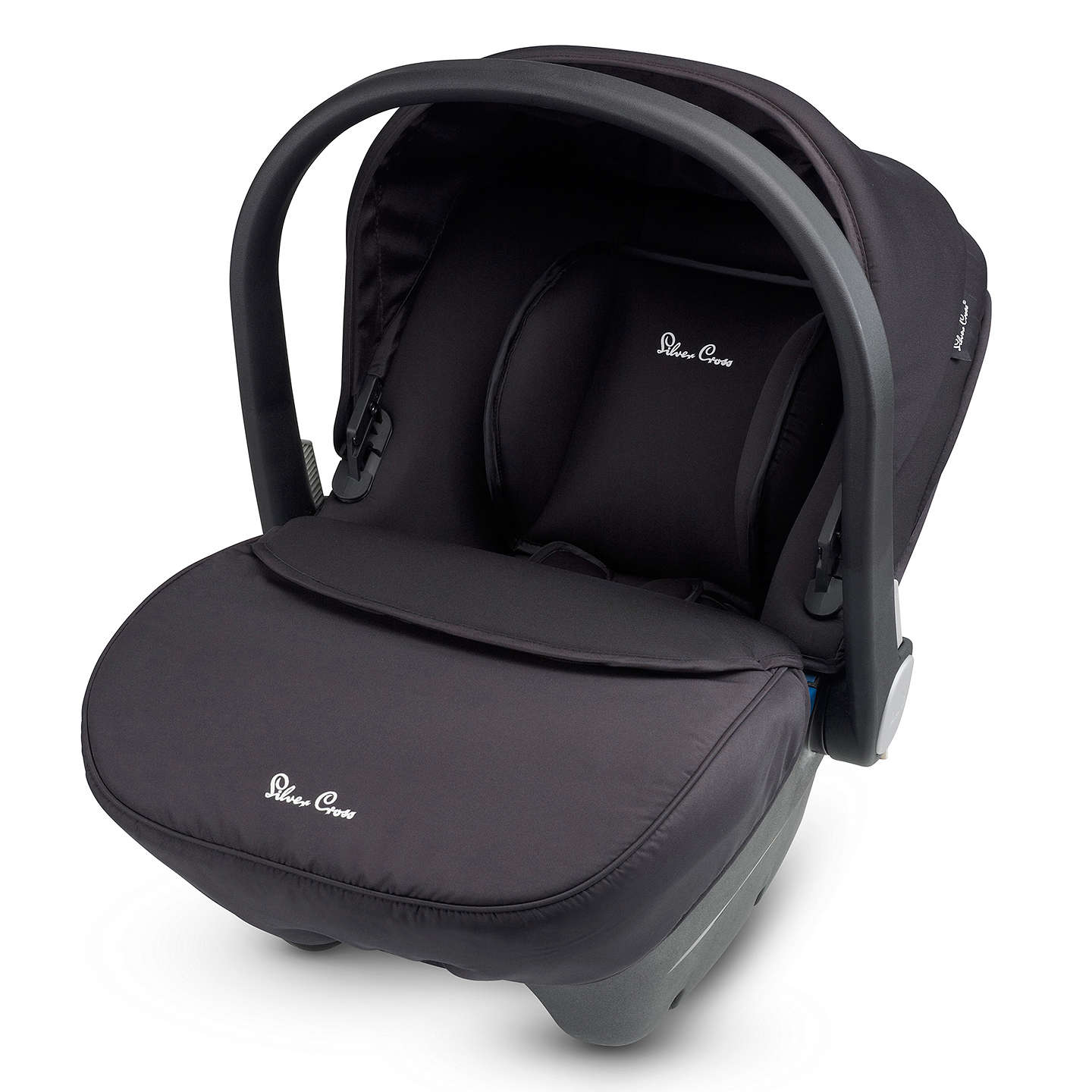 BuySilver Cross Simplicity Group 0+ Baby Car Seat, Black Online at johnlewis.com