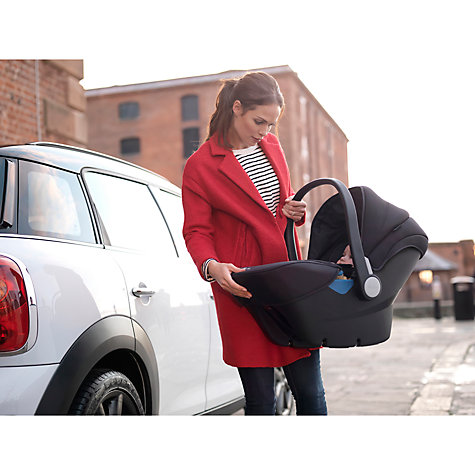 Buy Silver Cross Simplicity Group 0+ Baby Car Seat, Black Online at johnlewis.com