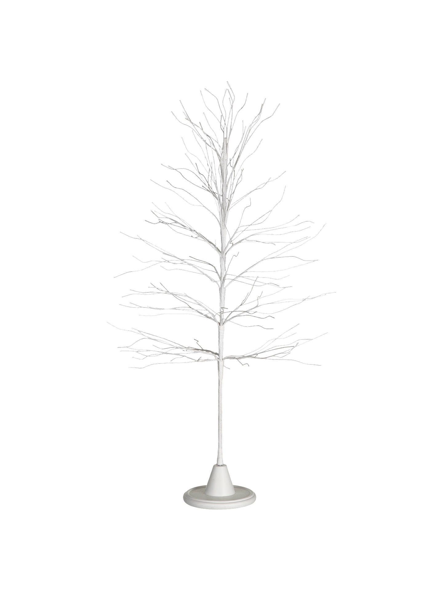Buy John Lewis Large Wicker Tree, White Online at johnlewis.com