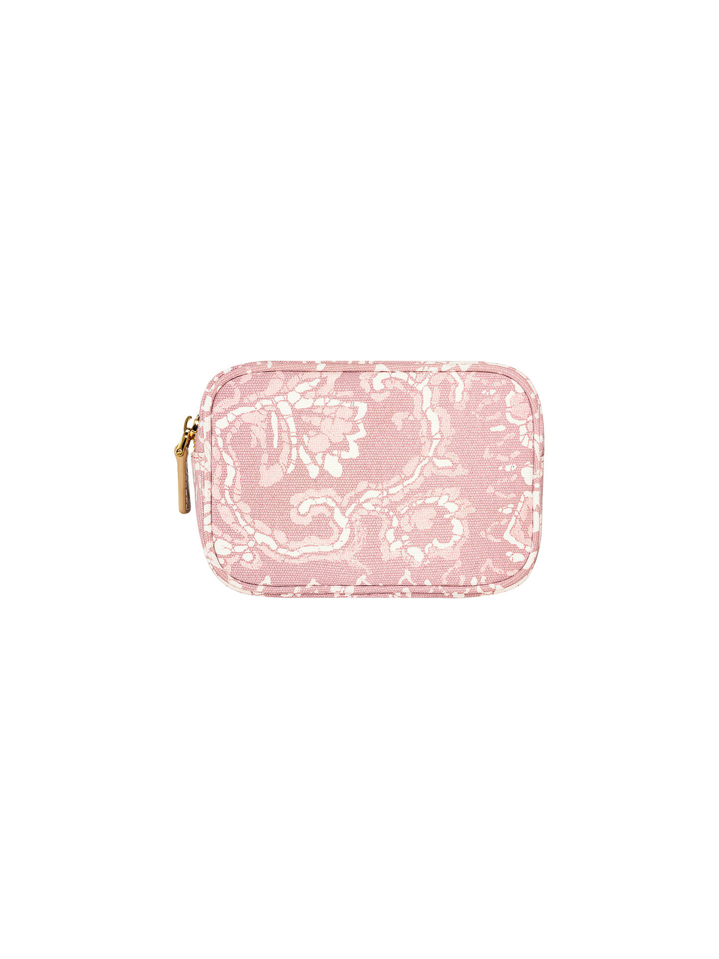 Aerin Essentials Makeup Bag Pink At