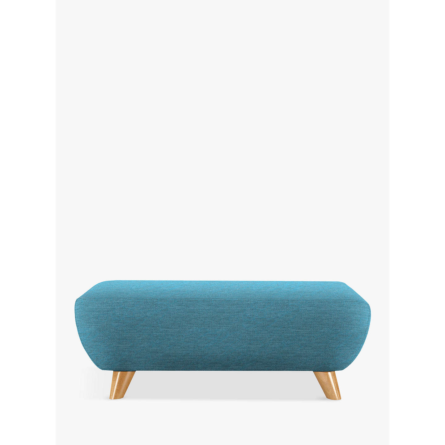 BuyG Plan Vintage The Sixty Seven Footstool, Fleck Blue Online at johnlewis.com
